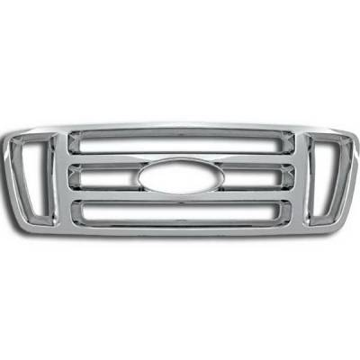 Restyling Ideas - Ford F150 Restyling Ideas Overlay Grille - 72-GI-FOF1504BAR-18
