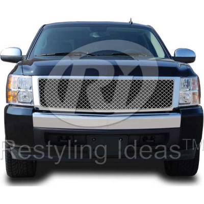 Restyling Ideas - Chevrolet Silverado Restyling Ideas Performance Grille - 72-RC-SIL07ME