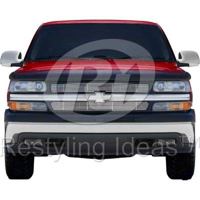 Restyling Ideas - Chevrolet Silverado Restyling Ideas Billet Grille - 72-SB-CHSIL99-T-NC