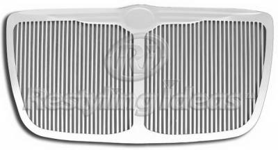 Restyling Ideas - Chrysler 300 Restyling Ideas Grille - Stainless Steel Chrome Plated Billet - 72-SB-CR30004VC