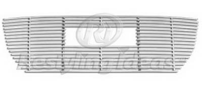 Restyling Ideas - GMC Canyon Restyling Ideas Upper Grille -Stainless Steel Billet - 72-SB-GMCAN04-T-NC