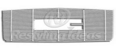 Restyling Ideas - GMC Sierra Restyling Ideas Upper Grille -Stainless Steel Chrome Plated Billet - 72-SB-GMSIE07-T