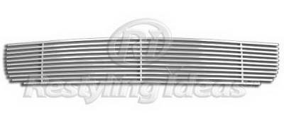 Restyling Ideas - Honda Accord 2DR Restyling Ideas Lower Grille - Stainless Steel Chrome Plated Billet - 72-SB-HOACC082-B