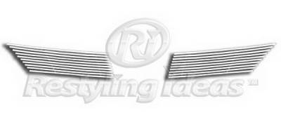 Restyling Ideas - Nissan Versa Restyling Ideas Upper Grille -Stainless Steel Chrome Plated Billet - 72-SB-NIVER07-T