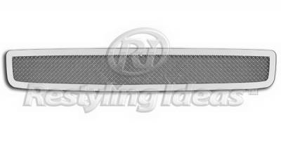 Restyling Ideas - Honda Accord 4DR Restyling Ideas Bumper Insert Grille - 72-SM703-HOAC408B-V6