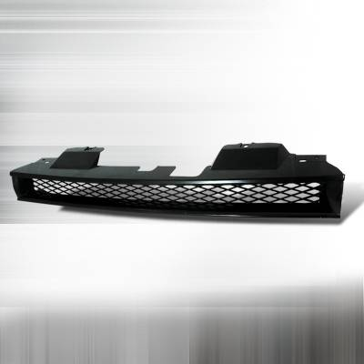 Spec-D - Honda Accord Spec-D Type R Style Front Hood Grille - Black - HG-ACD90TR
