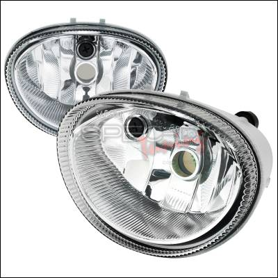 Spec-D - Dodge Caravan Spec-D Fog Light Kit - Clear Lens - LF-CAR96COEM-APC