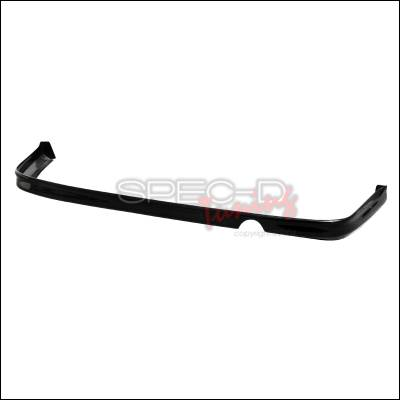 Spec-D - Honda Civic 2DR & 4DR Spec-D Type R Style ABS Plastic Rear Lip - LPR-CV924T-ABS