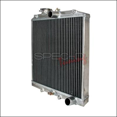 Spec-D - Honda Civic Spec-D Aluminum Radiator - RAD-CV92