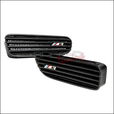 Spec-D - BMW 3 Series Spec-D M3 Side Vent - Black - VENT-M3BK