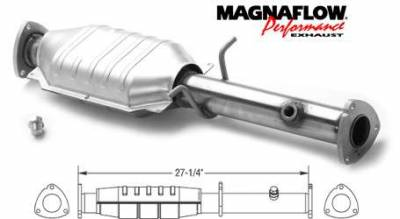 MagnaFlow - MagnaFlow Direct Fit Catalytic Converter - 23462