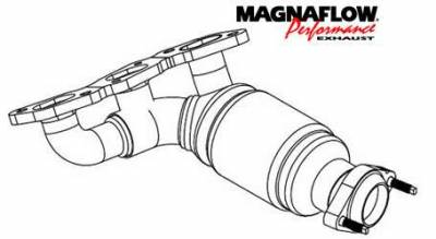 MagnaFlow - MagnaFlow Direct Fit Catalytic Converter - 50302