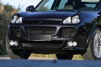 Hamann - Bumper Spoiler w/ integrated 2 high beams & 2 fog lights (S)