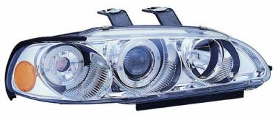 In Pro Carwear - Honda Civic 2DR In Pro Carwear Projector Headlights