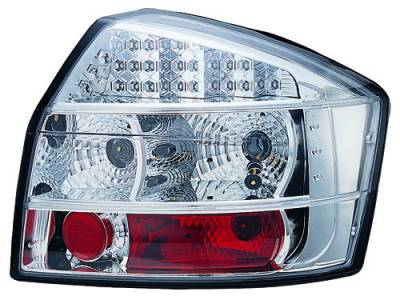 In Pro Carwear - Audi A4 IPCW Taillights - LED - Crystal Clear - 1 Pair - LEDT-8304C2