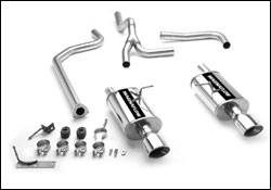 MagnaFlow - Magnaflow Cat-Back Exhaust System with Dual Rear Exit Pipes - 15762