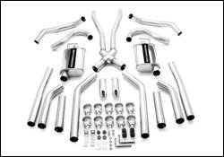MagnaFlow - Magnaflow Cat-Back Exhaust System with 2.5 Inch Pipe - 15894