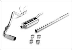 MagnaFlow - Magnaflow Cat-Back Exhaust System with Rear Side Exit on Independent Front Suspension - 16699