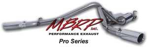 MBRP - MBRP Pro Series Dual Split Side Exhaust System S5012304