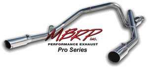 MBRP - MBRP Pro Series Dual Split Side Exhaust System S5114304