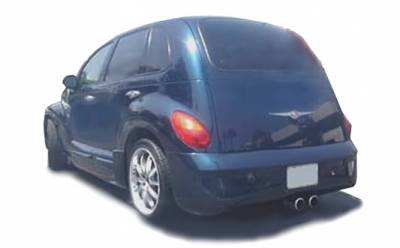 KBD - Chrysler PT Cruiser KBD Bomb Rear Bumper 37-2186