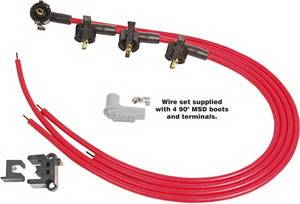MSD - Chevrolet MSD Ignition Wire Set - Super Conductor - 31689