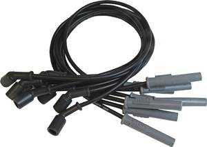 MSD - GM MSD Ignition Wire Set - Black Super Conductor - 32823