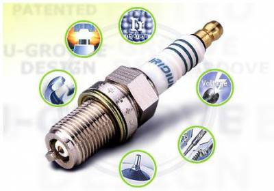 Iridium - Iridium Spark Plugs Set - 10 HP