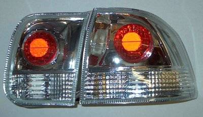 Matrix - Clear Euro Taillights - 9257