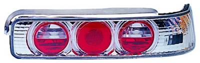 In Pro Carwear - Acura Integra 2DR IPCW Taillights - Crystal Eyes - Crystal Clear - 1 Pair - CWT-106C2