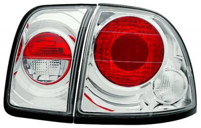 In Pro Carwear - Honda Accord 2DR & 4DR IPCW Taillights - Crystal Eyes - 4PC - CWT-711C2
