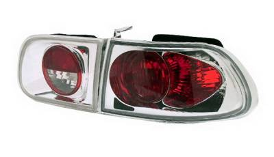 In Pro Carwear - Honda Civic HB IPCW Taillights - Crystal Eyes - 1PC - CWT-728C