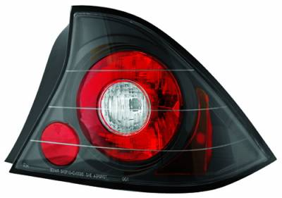 In Pro Carwear - Honda Civic 2DR IPCW Taillights - Crystal Eyes - 1 Pair - CWT-736B2