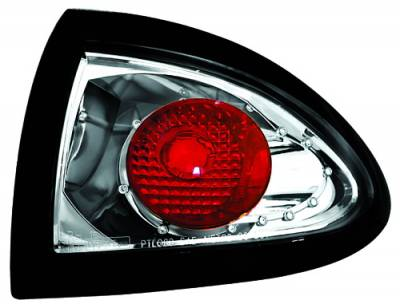 In Pro Carwear - Pontiac Sunfire IPCW Taillights - Crystal Eyes - Outer - 1 Pair - CWT-CE306C