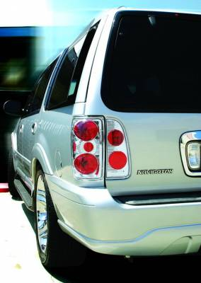 In Pro Carwear - Lincoln Navigator IPCW Taillights - Crystal Eyes - 1PC - CWT-CE524C