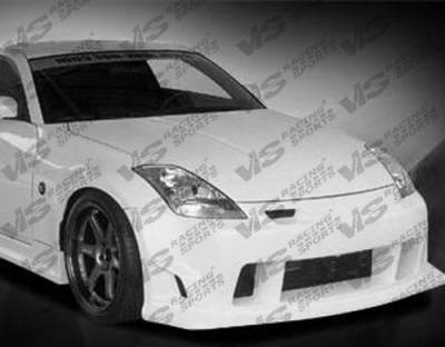 VIS Racing - Nissan 350Z VIS Racing Wings Full Body Kit - 03NS3502DWIN-099
