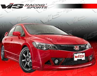 VIS Racing. - Honda Civic VIS Racing RR Full Body Kit - 06HDCVC4DJRR-099