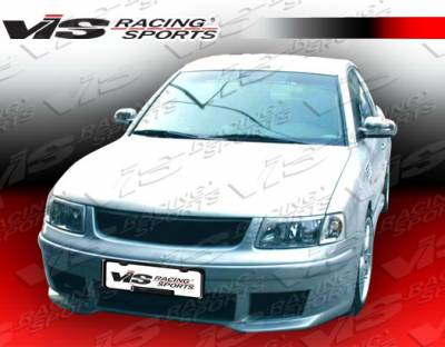 VIS Racing - Volkswagen Passat VIS Racing Max Full Body Kit - 98VWPAS4DMAX-099
