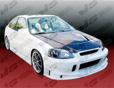 VIS Racing - Honda Civic 2DR VIS Racing TSC Full Body Kit - 99HDCVC2DTSC-099