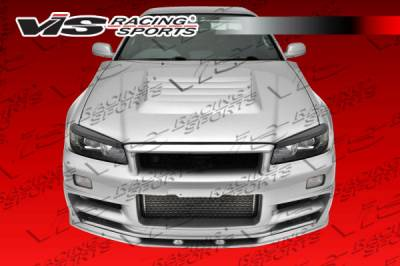 VIS Racing - Nissan Skyline VIS Racing V Spec Full Body Kit - 99NSR34GTRVSC-099