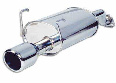 Vibrant - Stainless Steel Rear Section Exhaust Piping - 1707