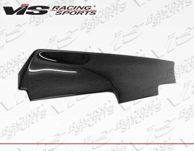 VIS Racing - Nissan 240SX VIS Racing Quad Six Carbon Fiber Spoiler - 89NS2402DQS-003C