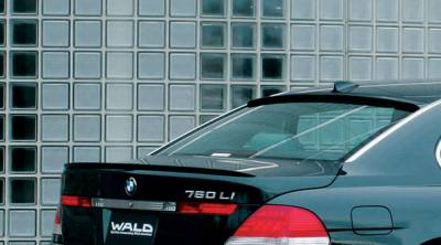 Wald - E65 Rear Trunk Lid Spoiler