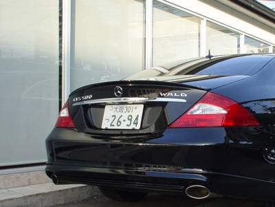 Wald - W219 Rear Trunk Lis Spoiler