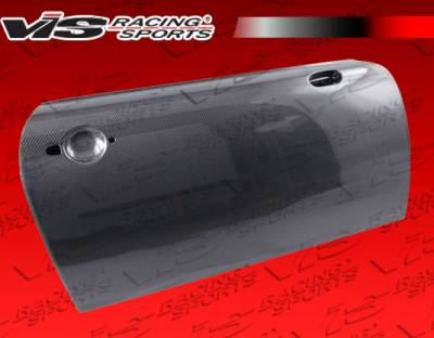 VIS Racing - Mini Cooper VIS Racing OEM Style Carbon Fiber Door Shell - Pair - 02BMMC2DOE-025C