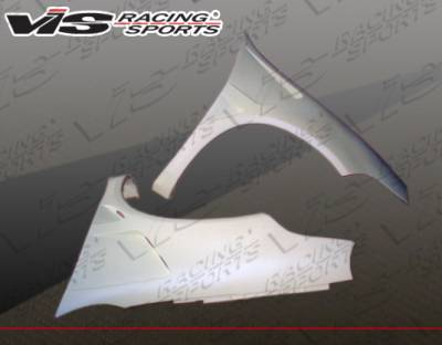 VIS Racing - Dodge Neon VIS Racing Laser Fenders - 03DGNEO4DLS-007