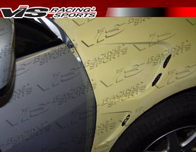 VIS Racing - Honda Accord 4DR VIS Racing Laser Fenders - 03HDACC4DLS-007