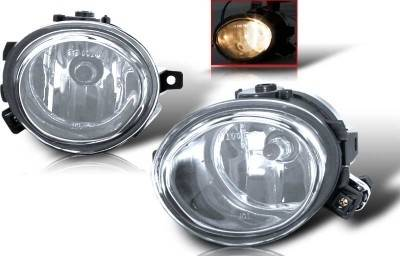 WinJet - BMW 5 Series WinJet OEM Fog Light - Clear - WJ30-0081-09