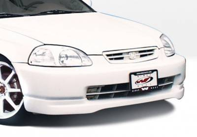 VIS Racing - Honda Civic VIS Racing Type-R Front Lip - Polyurethane - 890362