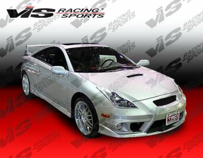 VIS Racing - Toyota Celica VIS Racing Techno R-2 Front Bumper - 00TYCEL2DTNR2-001